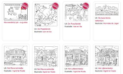 Kleurplaten Peter En De Wolf.Welkom Bij De Kinderboekenschrijvers Marianne Busser En Ron Schroder