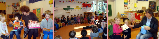 Bezoek aan de J. Vermeerschool te Delft
